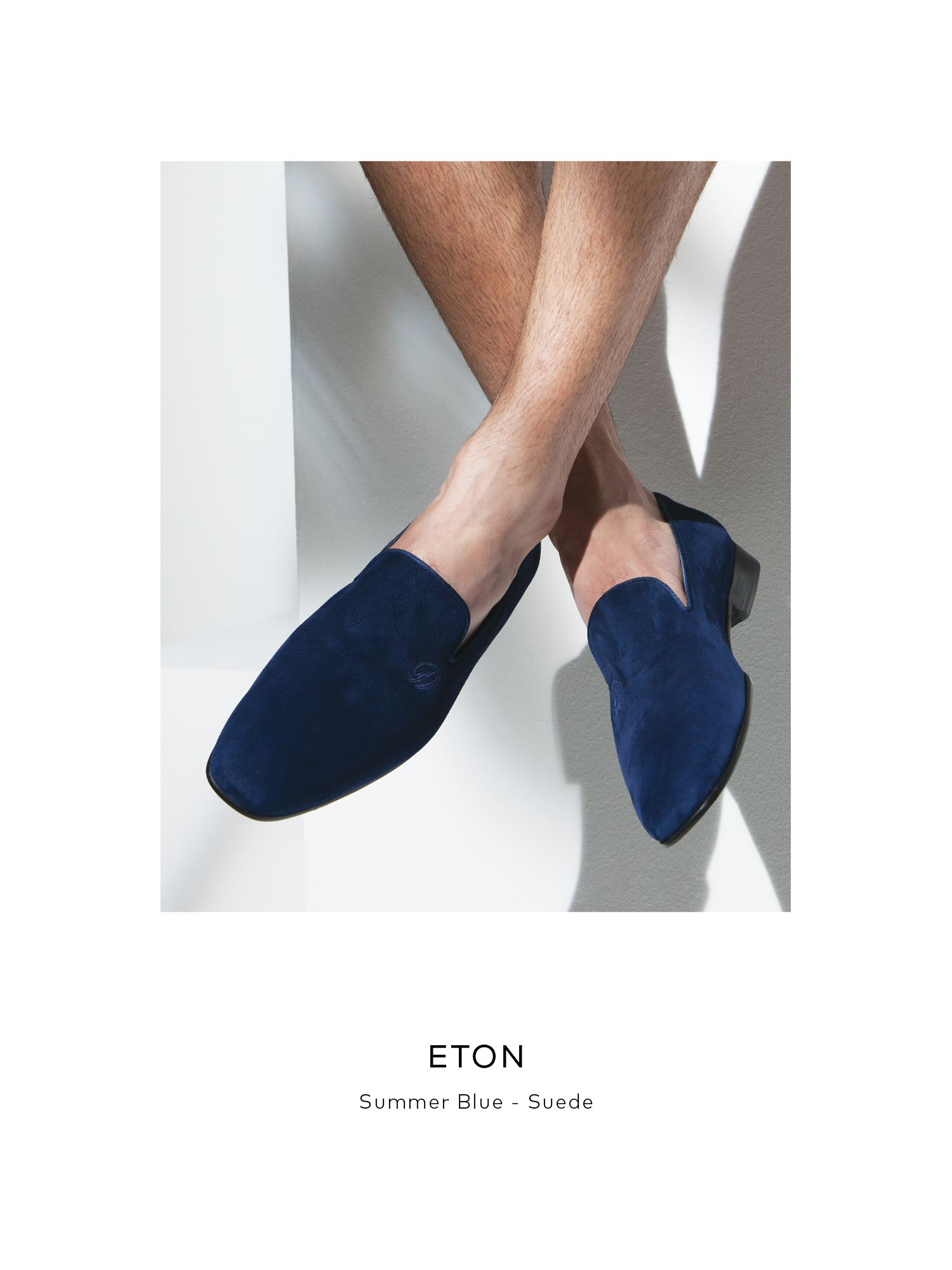 Eton, Summer BLue - Suede