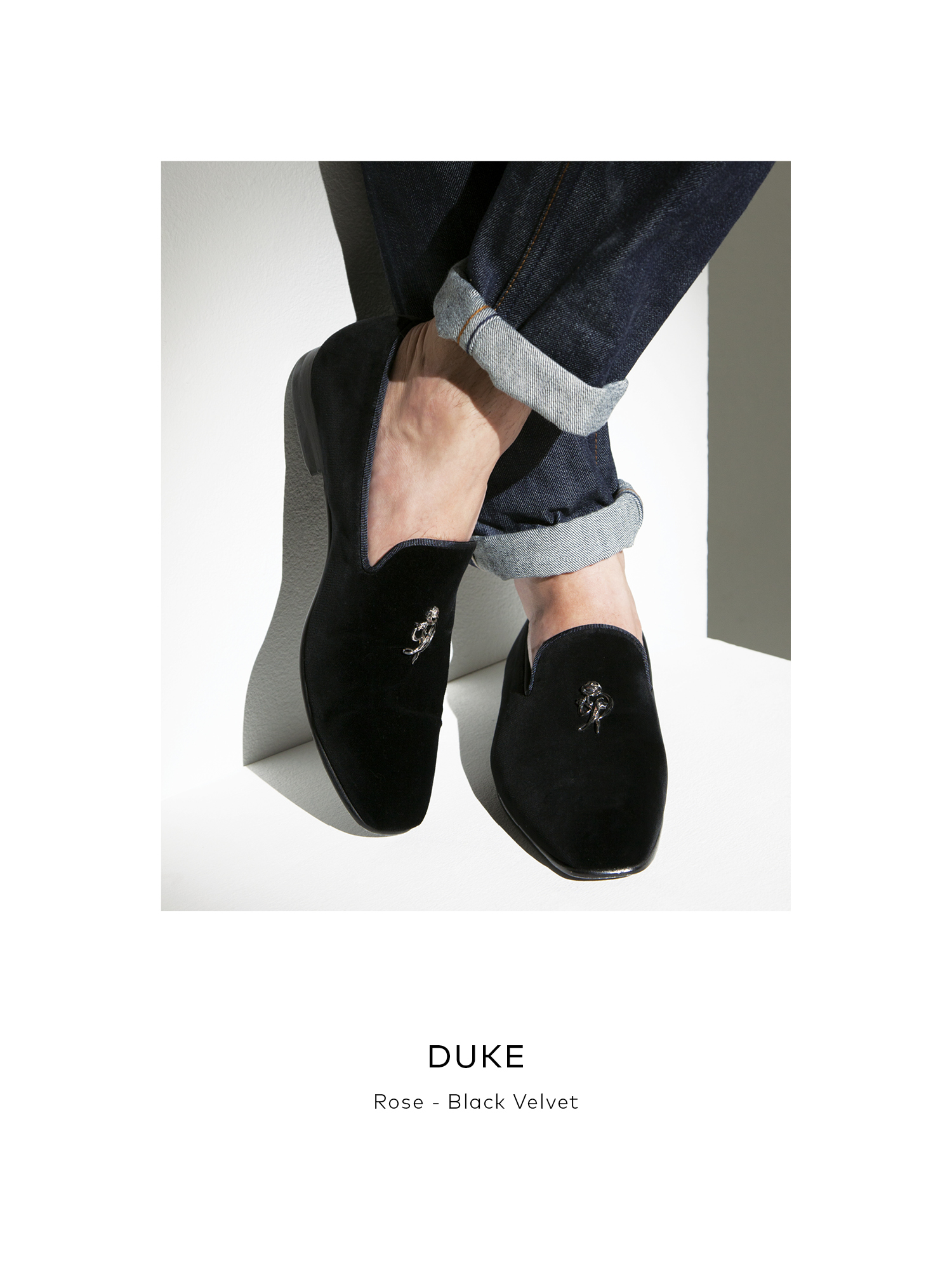 Duke, Rose - Black Velvet